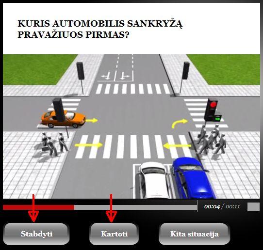 Vairavimo pamokos - kaip naudotis instruktoriams